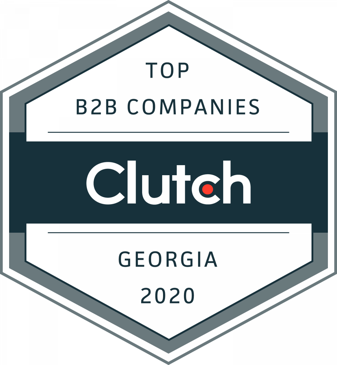 Award - Clutch top B2B Companies
