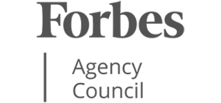 Logo for Forbes Agency Council
