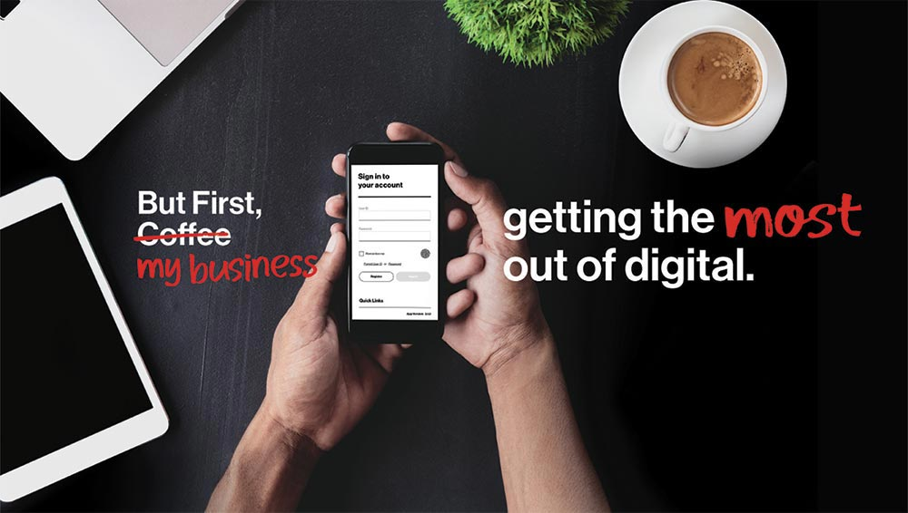 Getting the most out of digital. Using smartphone.